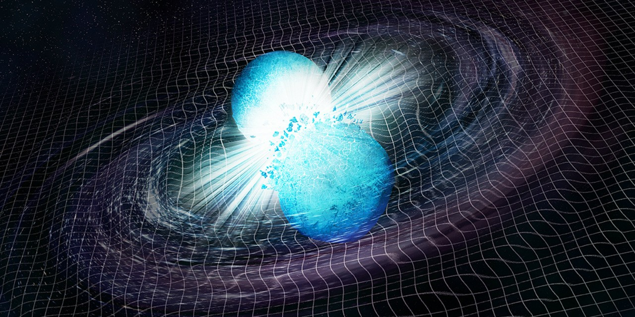The recent discovery of two neutron stars merging while spinning around each other heralds a new age of space science that will see astronomy and physics merge to gain the best of both worlds, say two astronomers. (Image: NASA/CXC/Trinity University/D. Pooley et al.)