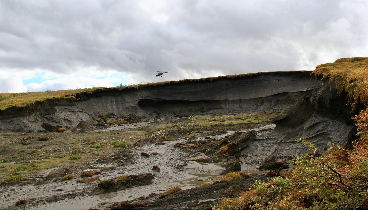 derretimento de permafrost