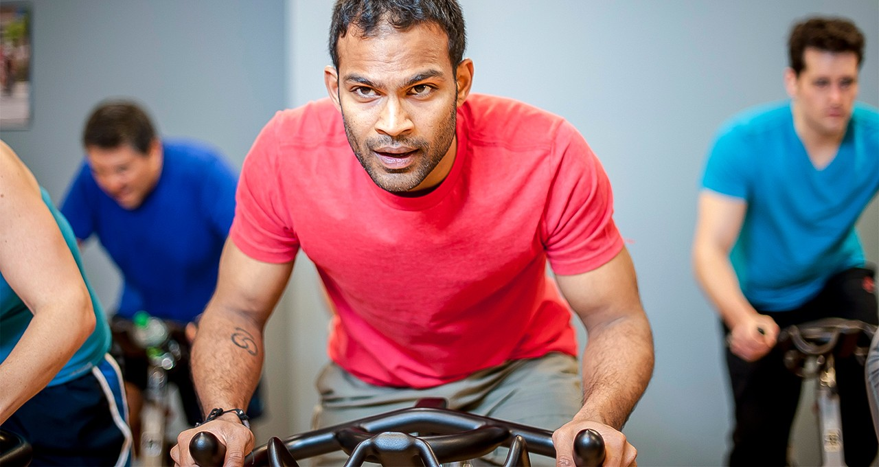 High-intensity interval training helps testicular cancer survivors reduce their risk of cardiovascular disease caused by their treatment, a new study shows. Participants also reported improved mental health and less fatigue. (Photo: Thinkstock)