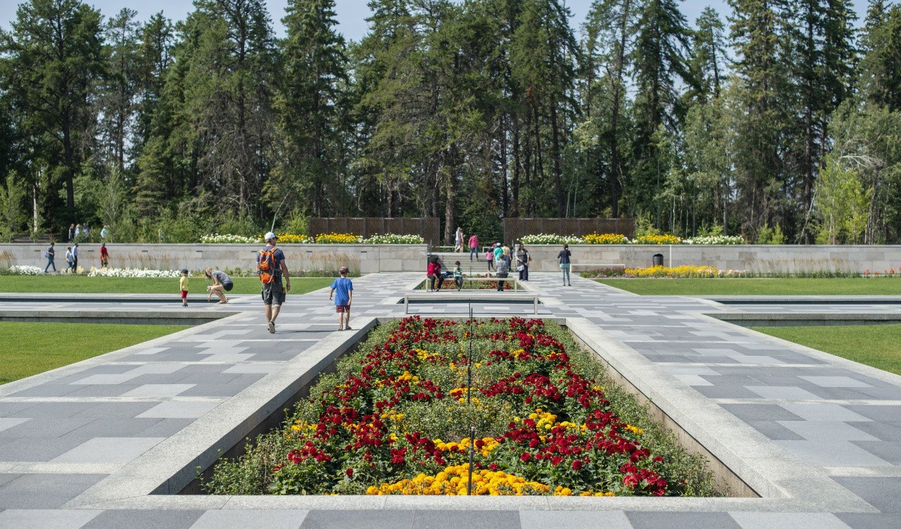 The Aga Khan will be at the U of A Botanic Garden Oct. 16 for a private ceremony inaugurating the breathtaking 4.8-hectare garden that bears his name. (Photo: Paul Swanson)