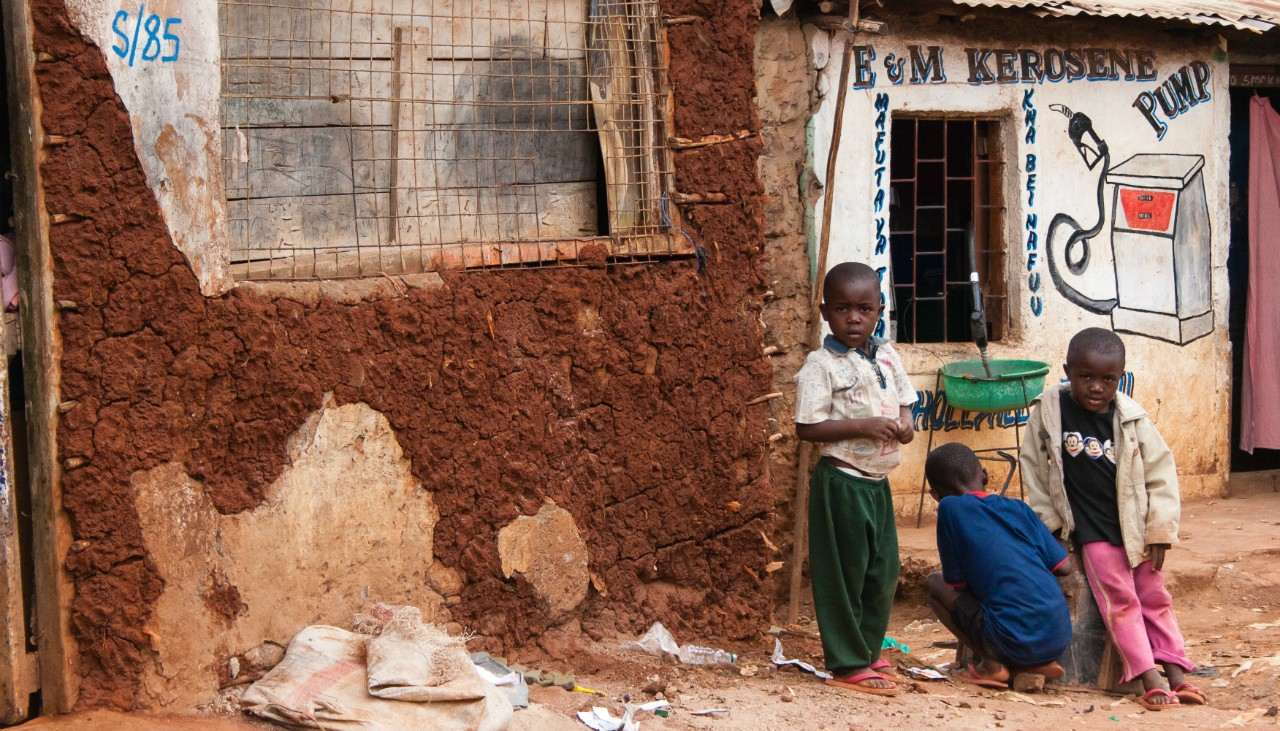 Three young boys tend a kerosene pump in Nairobi, Kenya. A new UN report shows children in African regions have some of the world's highest levels of exposure to household air pollution from fuels for cooking, heating and lighting. (Photo: Getty Images)