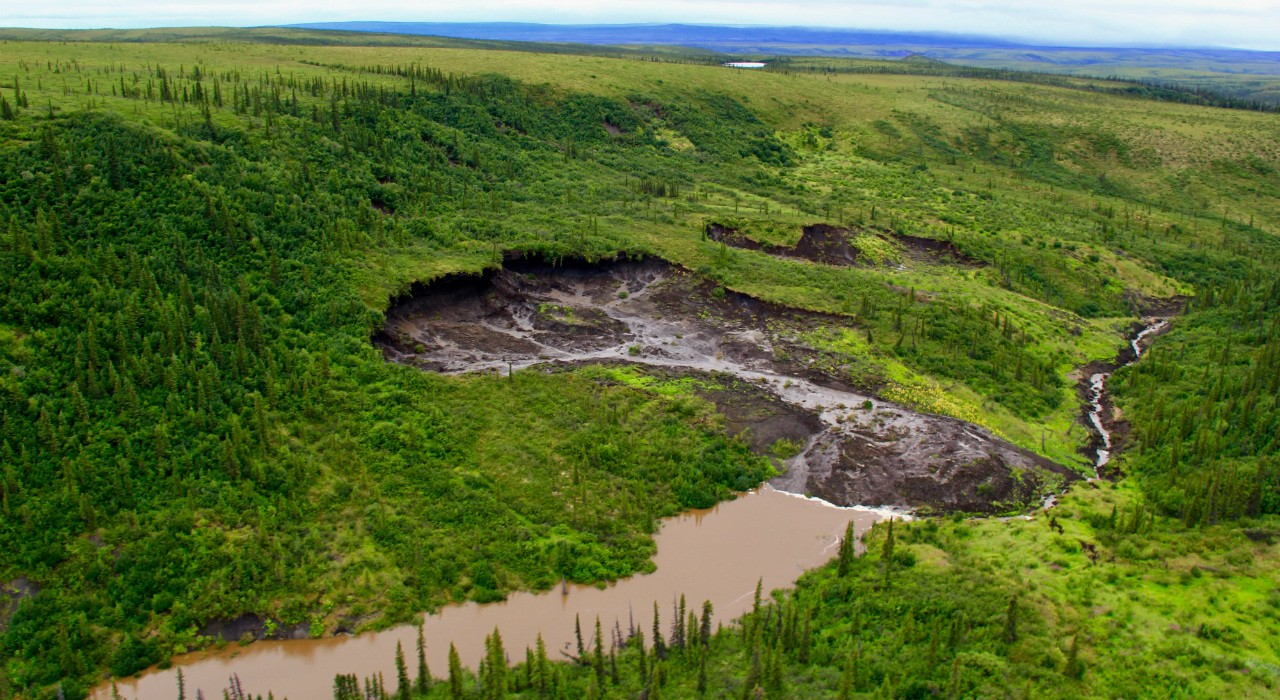 Methyl mercury is being released into environments such as this one on the Peel Plateau in the Yukon, according to a new study by U of A researchers. (Photo courtesy Scott Zolkos)