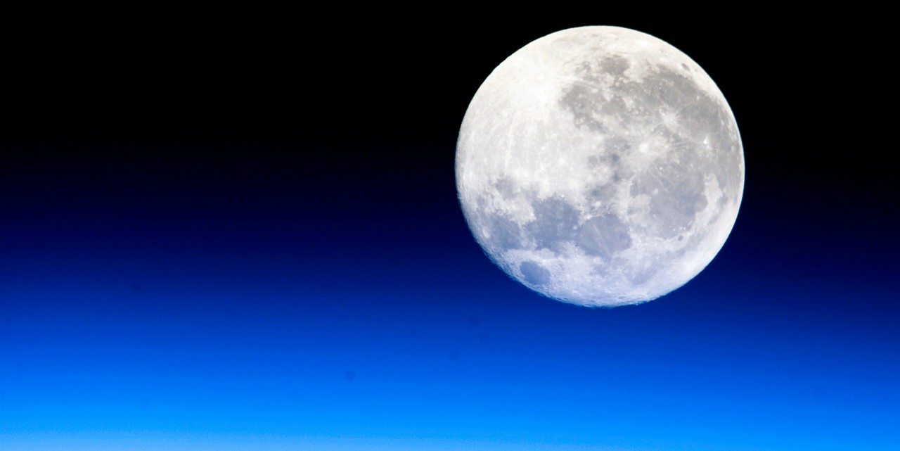 U of A researchers have provided the first model of the moon's rotational dynamics that accounts for the solid inner core. The new model also helps explain why the moon appears to wobble on its axis as it orbits Earth. (Photo: NASA)
