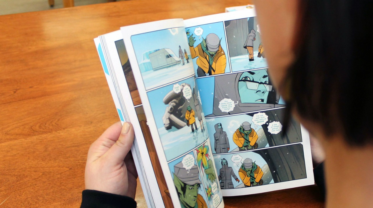 "Graphic novels deserve a place alongside the best contemporary literature, according to a U of A education professor. ""The format can tell sophisticated yet subtle stories."" (Photo: Kateryna Barnes)"
