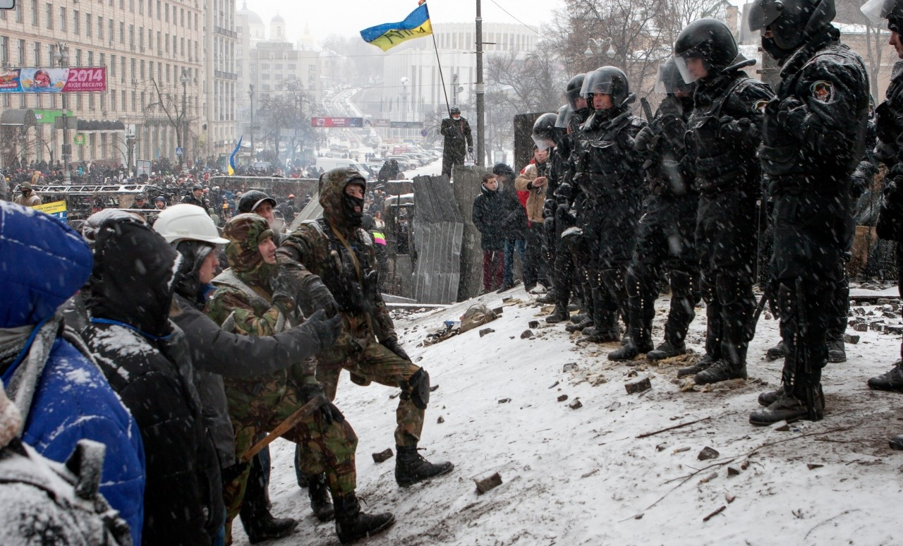 Internal strife in the wake of the Euromaidan protests against the Ukrainian government, corrupt courts and a legislature without sufficient checks and balances are putting human rights in Ukraine at risk, according to a U of A expert. (Photo: Getty Images)
