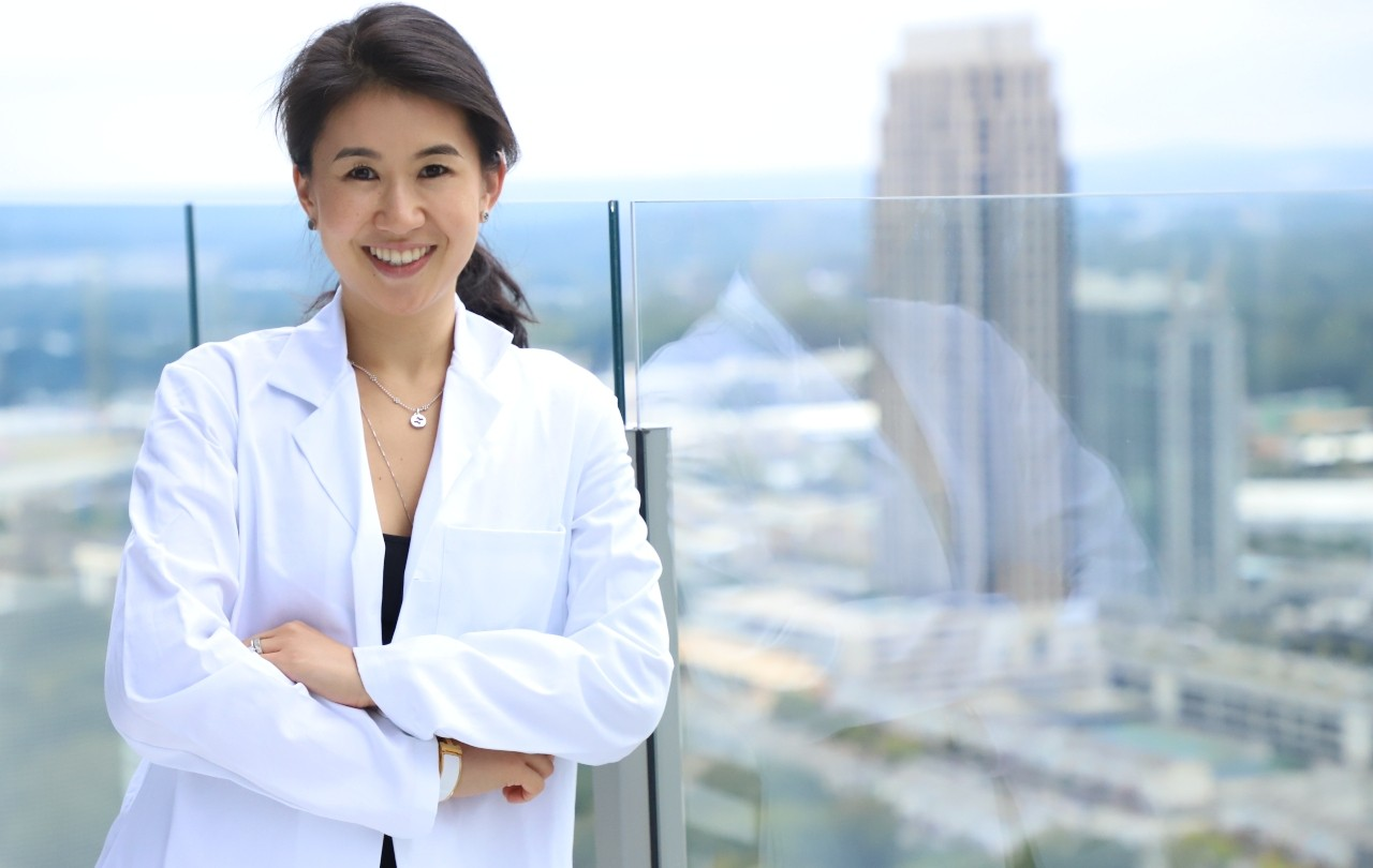 U of A family physician Stephanie Liu launched her blog, Life of Dr. Mom, to offer an evidence-based alternative to the misinformation she found on many mom blogs. (Photo: Supplied)