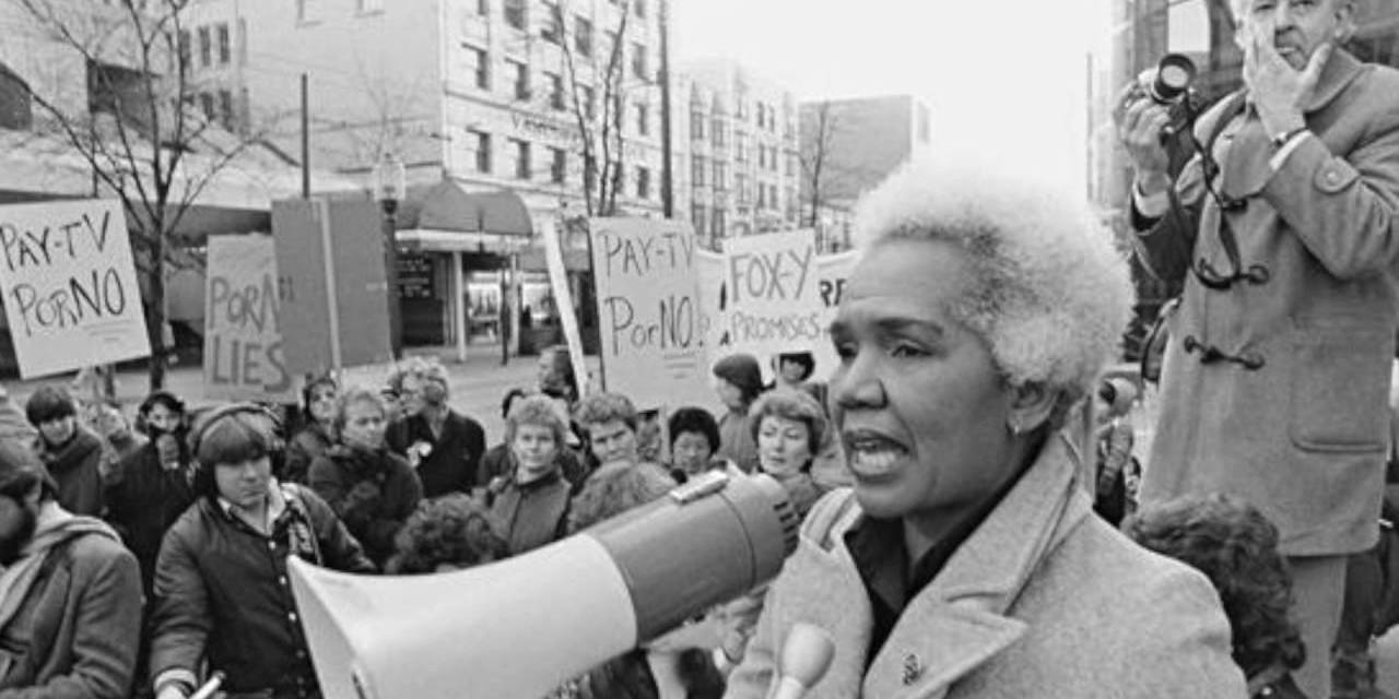 Rosemary Brown, the first black Canadian woman to be elected to a provincial legislature, is one of 12 black female Canadian politicians featured in a video created by U of A political scientist Malinda Smith. (Image: Digital Archive Ontario)