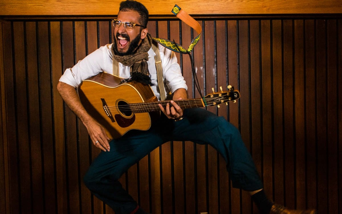 U of A doctoral student Pramodh Senarath Yapa combined his scientific and artistic talents to create a musical that won first prize in the 2018 Dance Your PhD competition. (Photo courtesy of Pramodh Senarath Yapa)