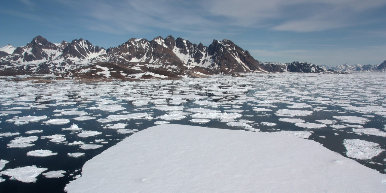 Larger waves caused by melting Arctic sea ice may not accelerate the loss of further ice as much as some scientists have speculated, according to new research showing how floating particles dampen surface waves. (Photo: Getty Images)