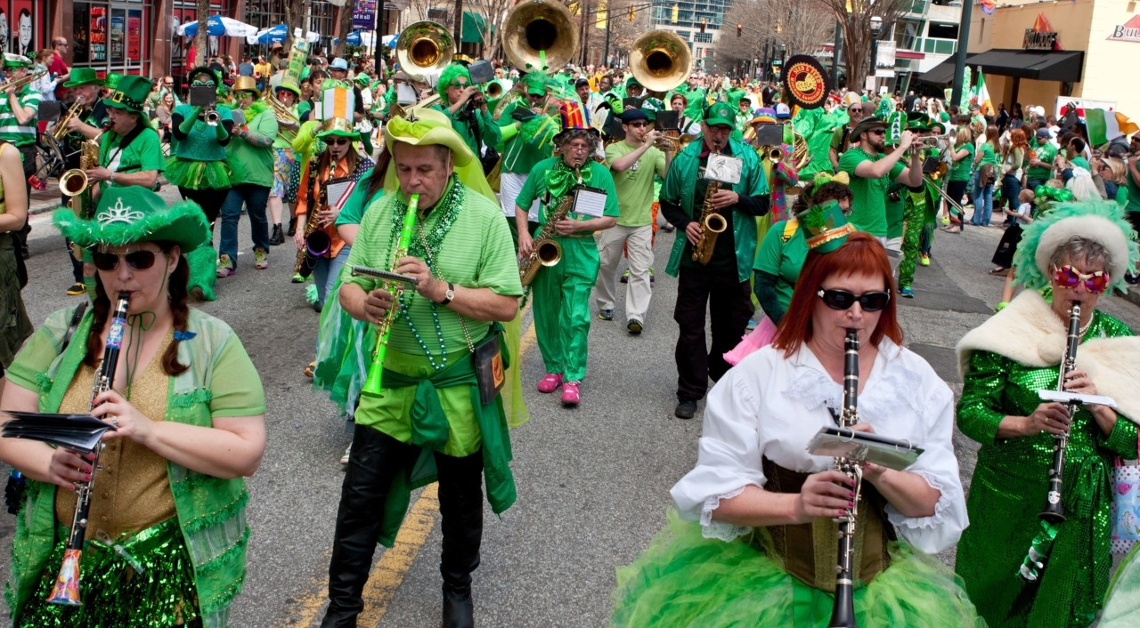 St. Patrick's Day parades began with Irish immigrants in North America and didn't happen in Dublin until the early 1930s, according to a U of A expert in religious history. (Photo: Getty Images)
