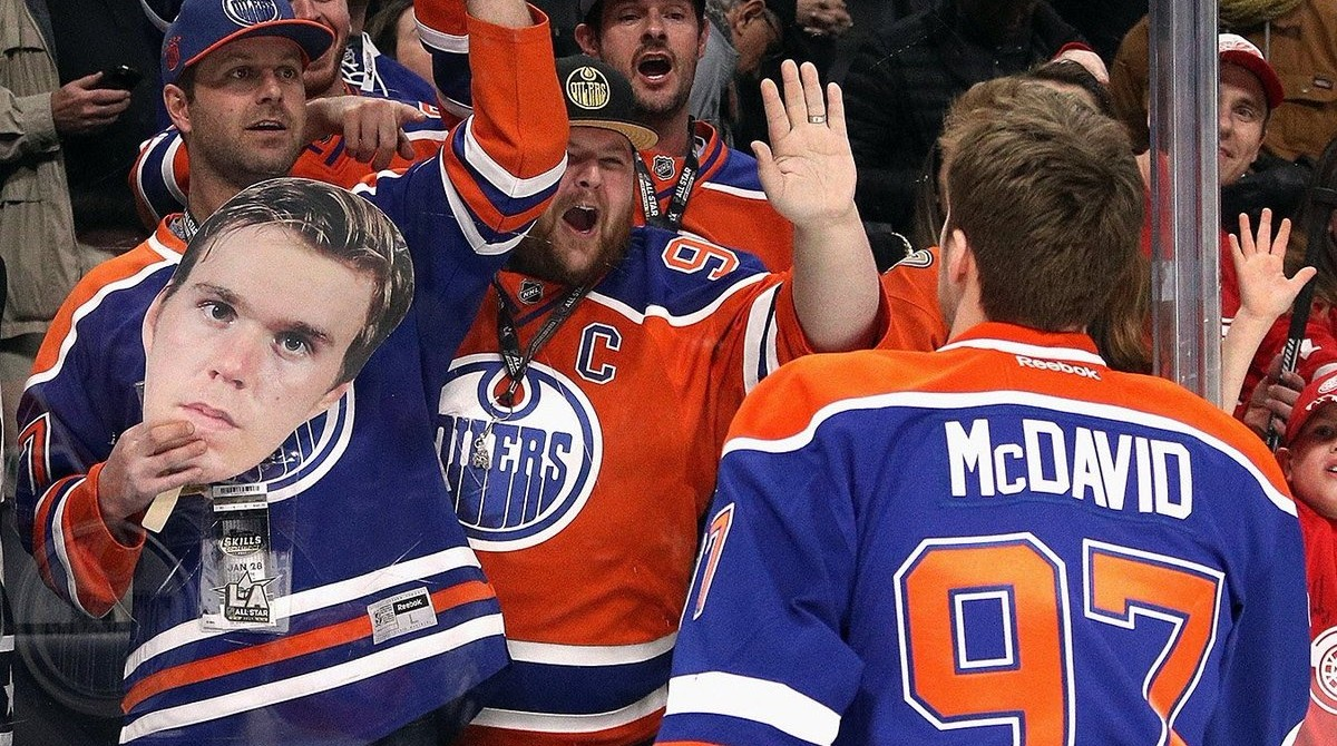 Edmonton Oilers fans identify with captain Connor McDavid's frustration about not making the playoffs because, like him, they care deeply about the team and the game, say two psychologists—and the more they care, the more it hurts. (Photo: Connor McDavid via Twitter)
