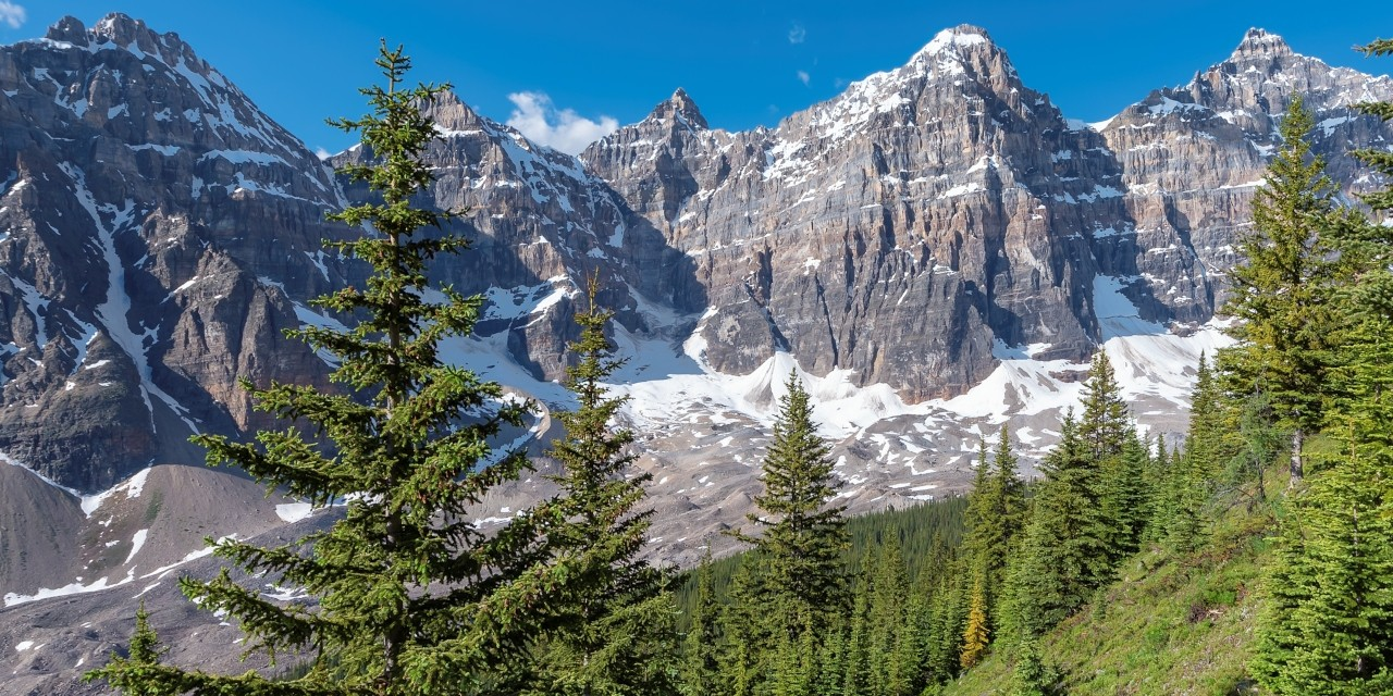 U of A researchers used new, high-resolution seismic data to determine the Canadian Rocky Mountains likely formed in a collision between two continents about 100 million years ago, rather than gradually building up material as traditionally thought. (Photo: Getty Images)