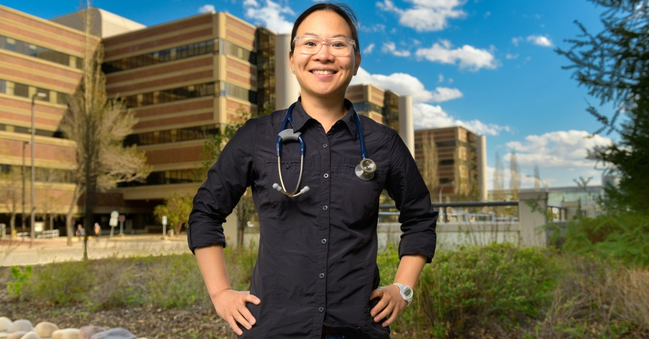 Family doctor and palliative care specialist Anna Voeuk earned her master's degree in public health to round out the skills she uses to relieve suffering in disaster zones around the world.