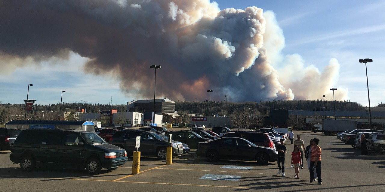 The wildfire that devastated the Fort McMurray area in 2016 left young people with double to triple the average rate of post-traumatic stress disorder, according to a study led by U of A psychiatrist Peter Silverstone, who designed a school-based program to help teens analyze their thoughts and feelings. (Photo: Jason Woodhead via Flickr, CC BY 2.0)