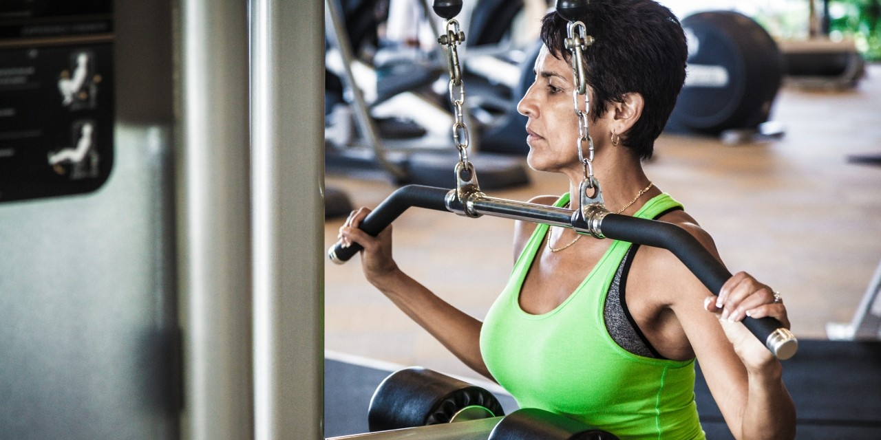 Combining aerobic and resistance training may offer the most benefits for women during and after chemotherapy for breast cancer, according to a new U of A study. The research also showed that women who included resistance training in their workouts were more likely to stick with regular exercise after their cancer treatment. (Photo: Getty Images)