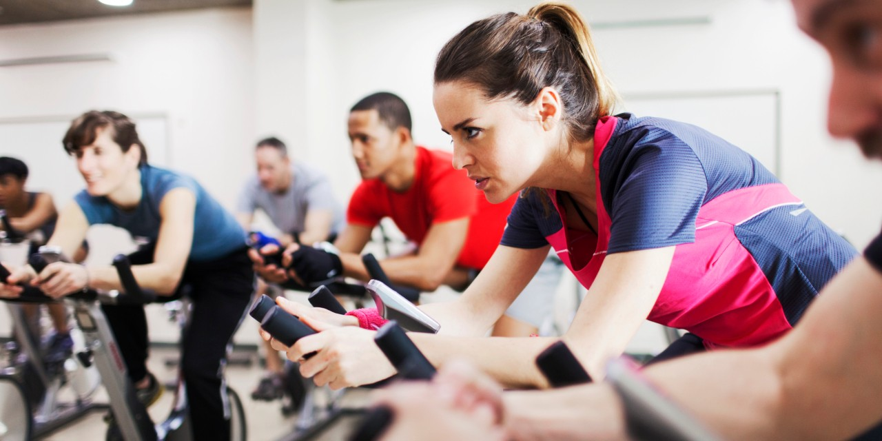 Exercising at moderate intensity—about a 6 on a scale from 1 to 10—is almost as effective as high-intensity interval training and has fewer health risks, according to a preliminary study by U of A researchers. (Photo: Getty Images)