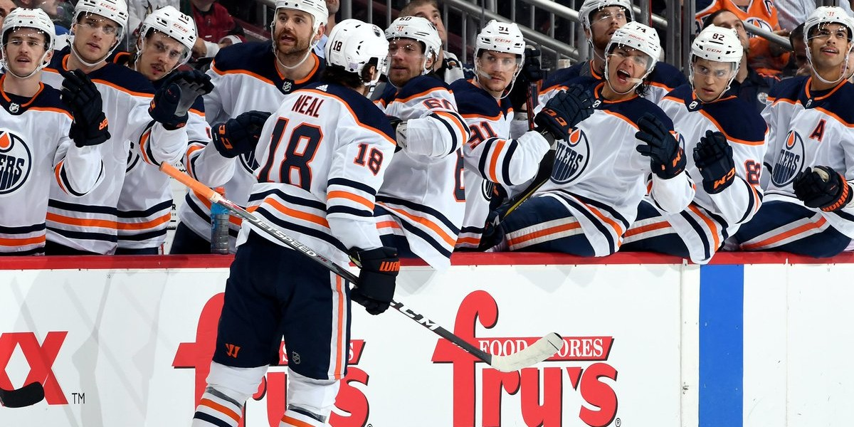 The Edmonton Oilers' winning record after 15 games this season is no fluke according to the analytics that matter, says U of A professor William Hanson. (Photo: Edmonton Oilers via Twitter)
