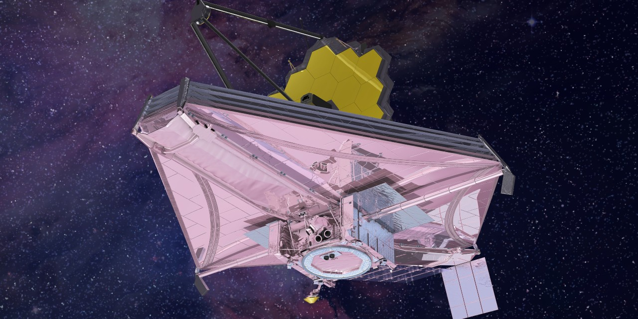When the James Webb Space Telescope launches in 2021, it will be the culmination of two decades of historical research by U of A space historian Robert Smith. (Photo: NASA)