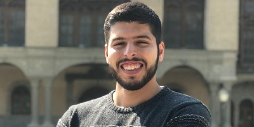 Amir Hossein Saeedinia was to start his PhD in mechanical engineering at the U of A this month. (Photo: Centre for Design of Advanced Materials)