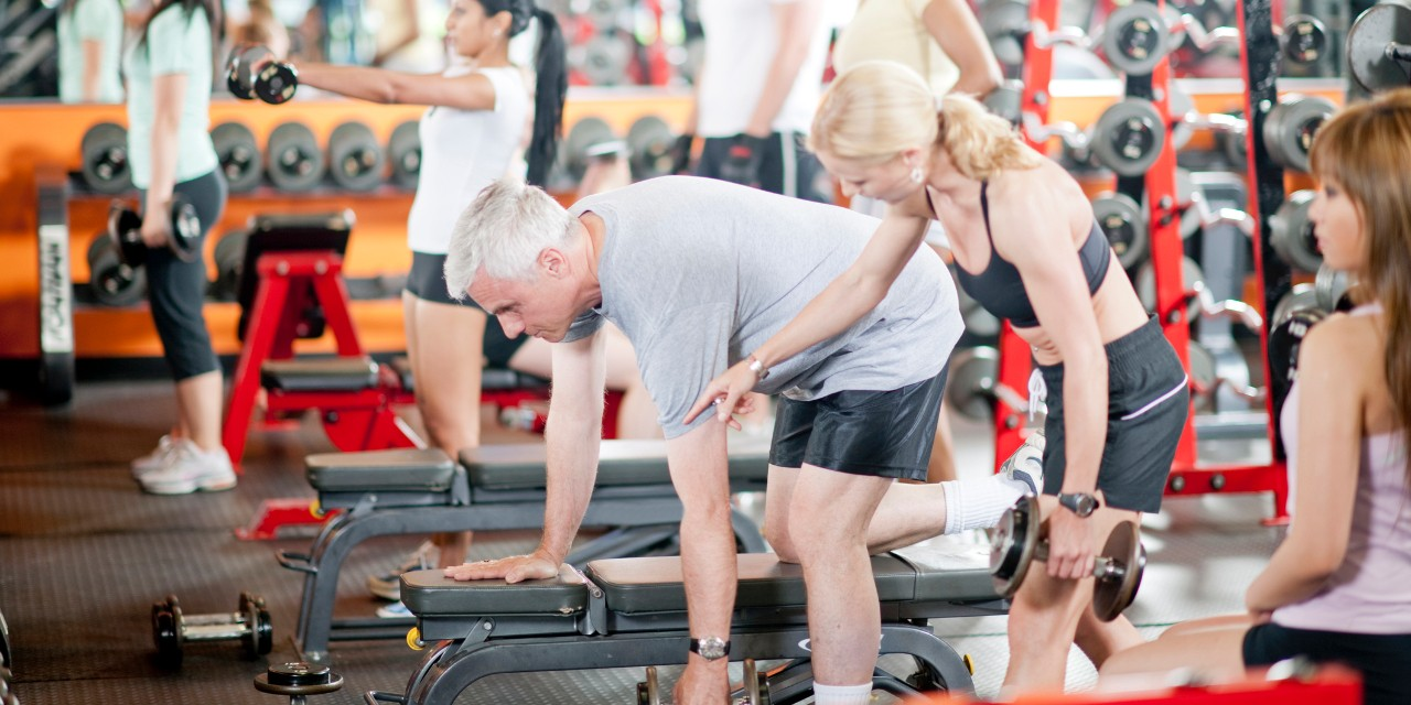 Weight training offers physical and mental health benefits at any age, but is especially important to help older adults maintain muscle mass, say U of A experts. (Photo: Getty Images)