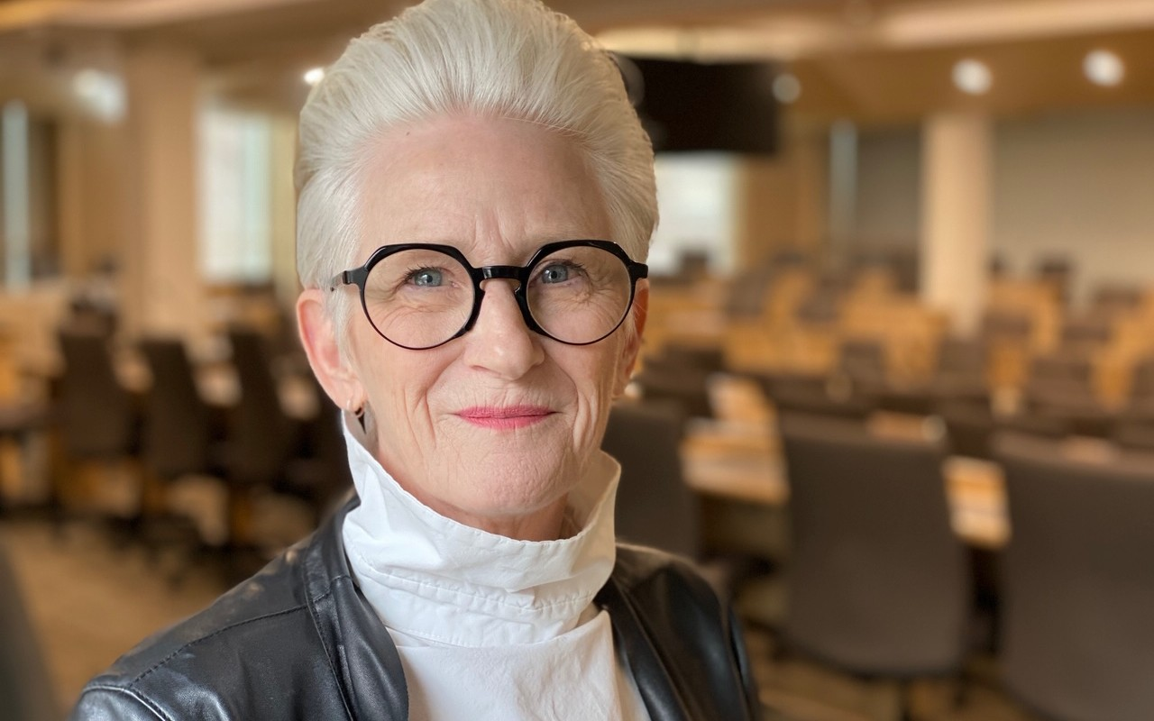 Peggy Garritty was elected as the U of A's 22nd chancellor for a four-year term beginning June 18, 2020. (Photo: Michelle Hagen)