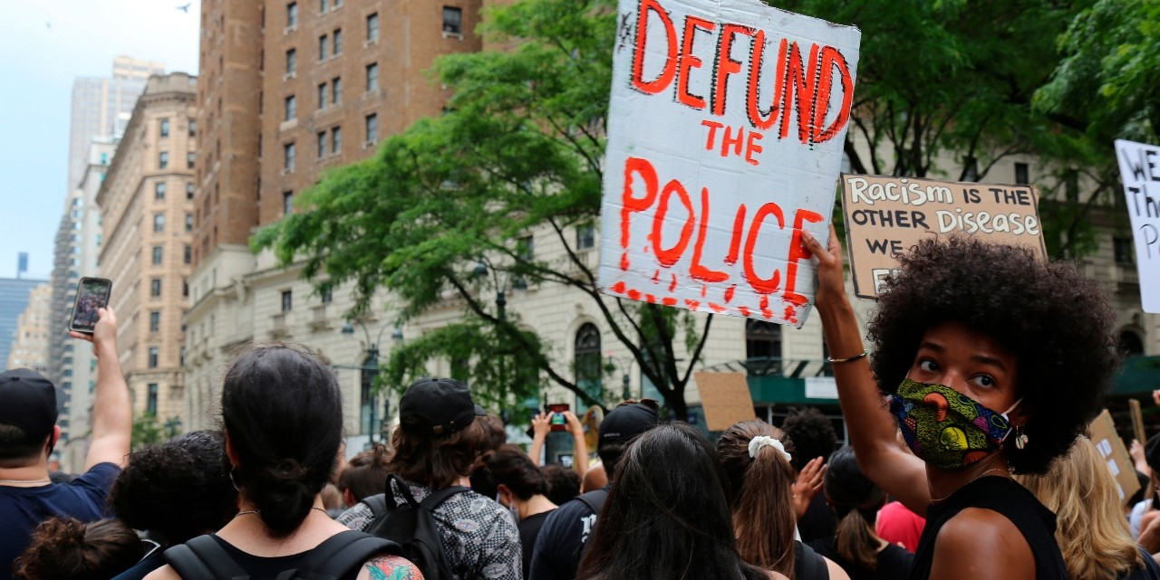 Protesters march on June 6, 2020, in New York. Demonstrations continue across the United States in protest of racism and police brutality, sparked by the May 25 death of George Floyd in police custody in Minneapolis. (Photo: AP/Ragan Clark)