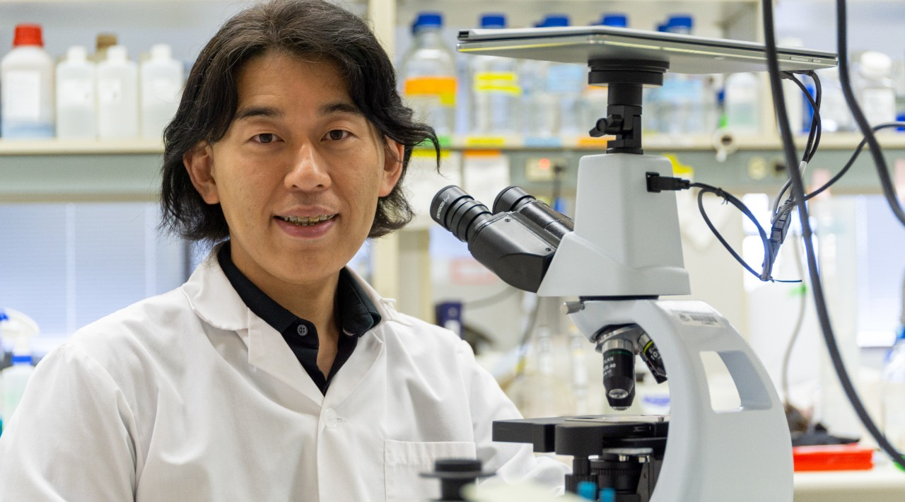 U of A medical geneticist Toshifumi Yokota led a research team that created a potential new treatment for one of the most common forms of muscular dystrophy. (Photo: Supplied)