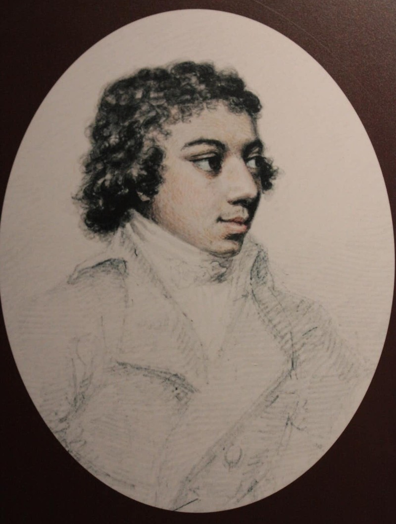 An illustration of the composer George Bridgetower by Henry Edridge, c.1790. (Image: Wikimedia Commons)