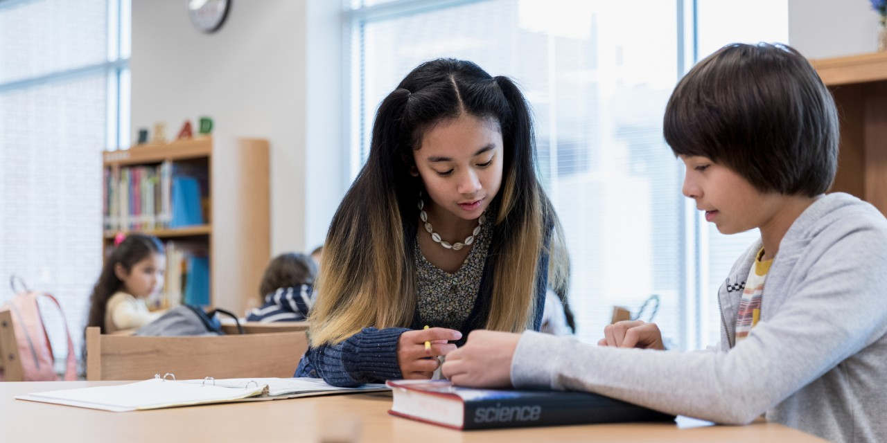 Many English language learners in junior high are falling behind their monolingual classmates in oral language and literacy skills, according to a recent study by a U of A linguist. (Photo: Getty Images)