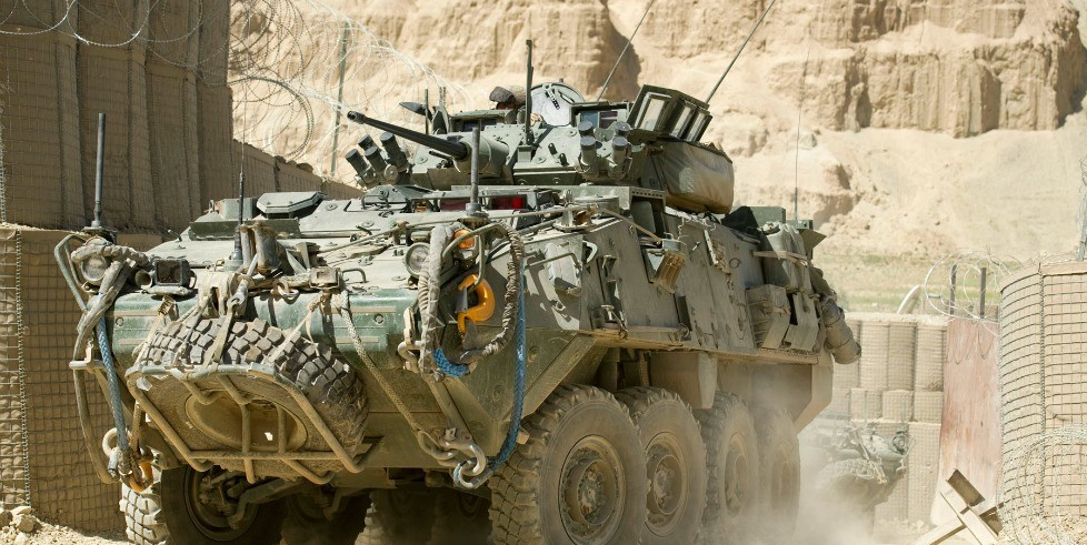 A Canadian-made LAV III manufactured by General Dynamics Land Systems, the company that won the bid to sell light armoured vehicles to Saudi Arabia. (Photo: New Zealand Defence Force, CC BY 2.0)