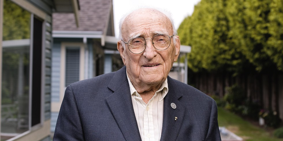 Bill Kent, the University of Alberta's oldest alumnus, passed away at the age of 106.