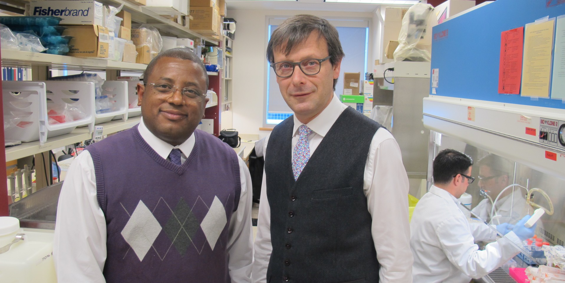 Boris Gala-Lopez and James Shapiro are co-authors of a new study published in the journal Diabetes.