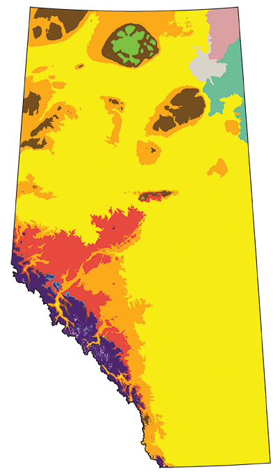 Check our Schneider's maps showing the projected impact of climate change on Alberta's landscapes at https-::www.ualberta.ca:newtrail:mapping-the-future