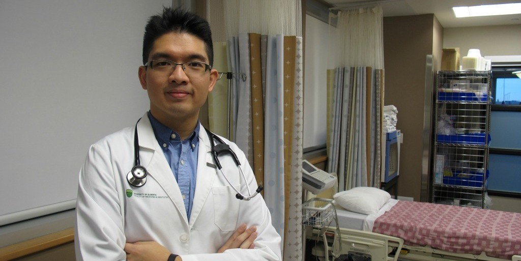 Colin Siu is the first student to take part in a new clinical rotation in Aboriginal health, thanks to a first-of-its-kind partnership between UAlberta's Faculty of Medicine & Dentistry and the Bigstone Health Commission.