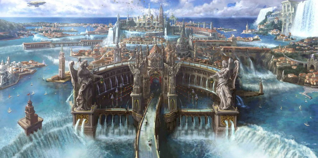 Concept art from the video game Final Fantasy XV (Image: Square Enix)