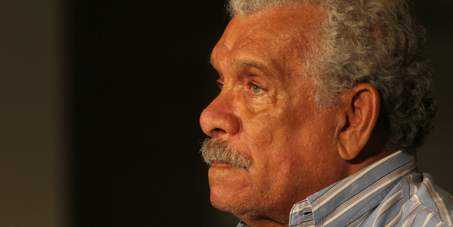 Derek Walcott was a visiting professor and Distinguished Scholar in Residence at UAlberta between 2007 and 2012. (Photo: Jorge Mejía Peralta via Flickr, CC BY 2.0)