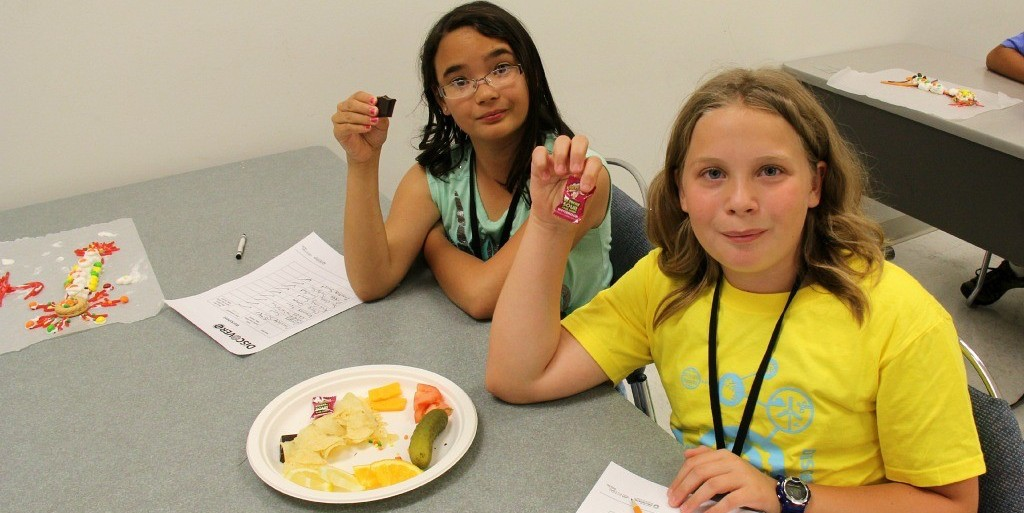 DiscoverE campers learned about how the sense of taste works, and how to change it, in a week-long biomedical design camp. DiscoverE camps run all summer until the week of Aug. 24.