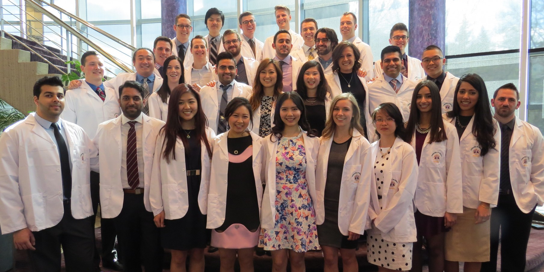 Doctor of Dental Surgery (DDS) class of 2018.