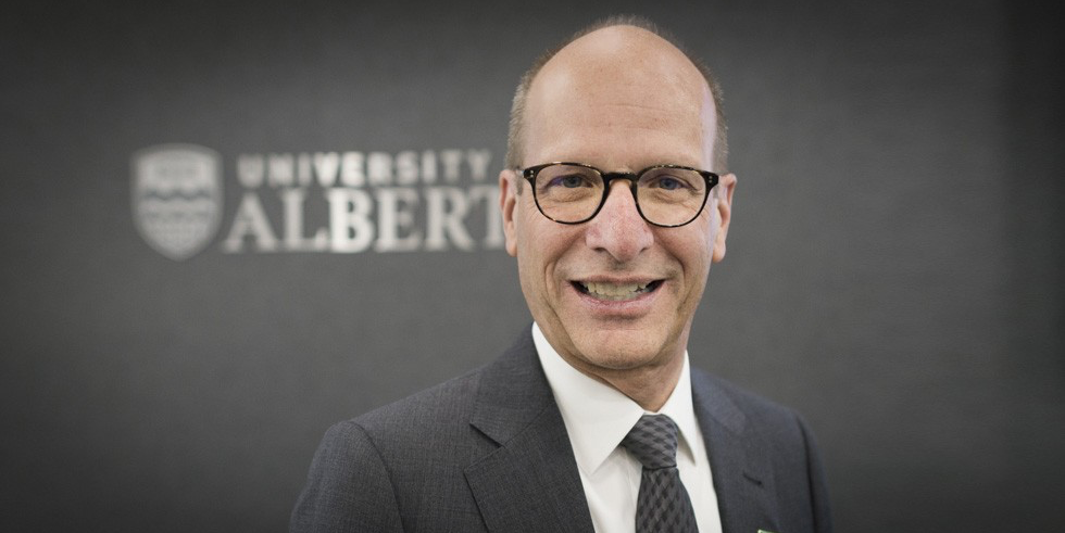 Douglas R. Stollery was elected as the university's 21st chancellor May 6. (Photo: Richard Siemens)