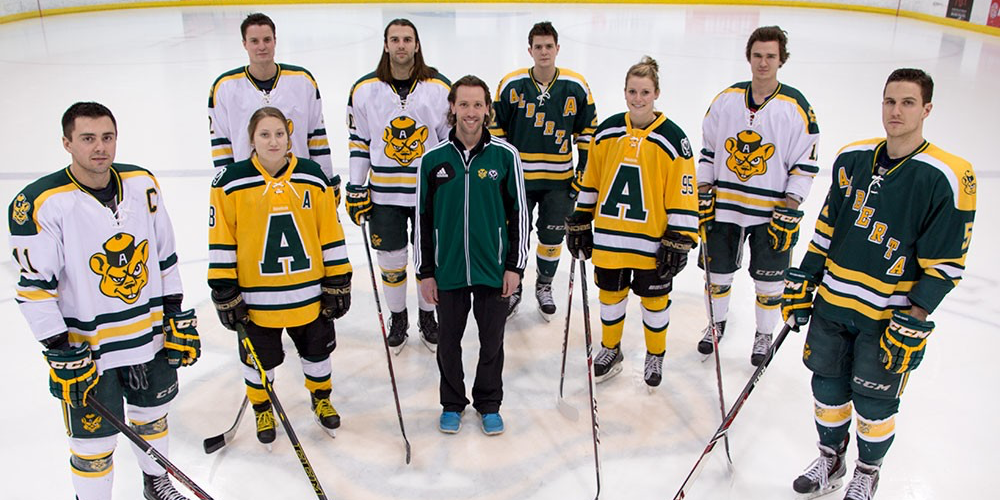 Eight student-athletes from Golden Bears and Pandas Athletics are among UAlberta's contingent of 14 individuals who will represent Canada at the 27th Winter Universiade in Granada, Spain.
