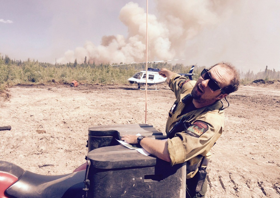 "Forestry grad Tyler Schneider has logged thousands of kilometres by road, on foot and through the air, jumping from one hotspot to another—including ""the Beast,"" which burned a swath of destruction through his former hometown of Fort McMurray."