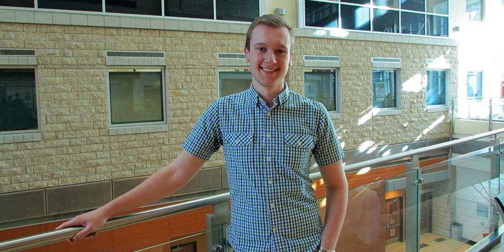 Fourth-year pharmacy student Scott Wakeham is a passionate advocate for mental wellness.