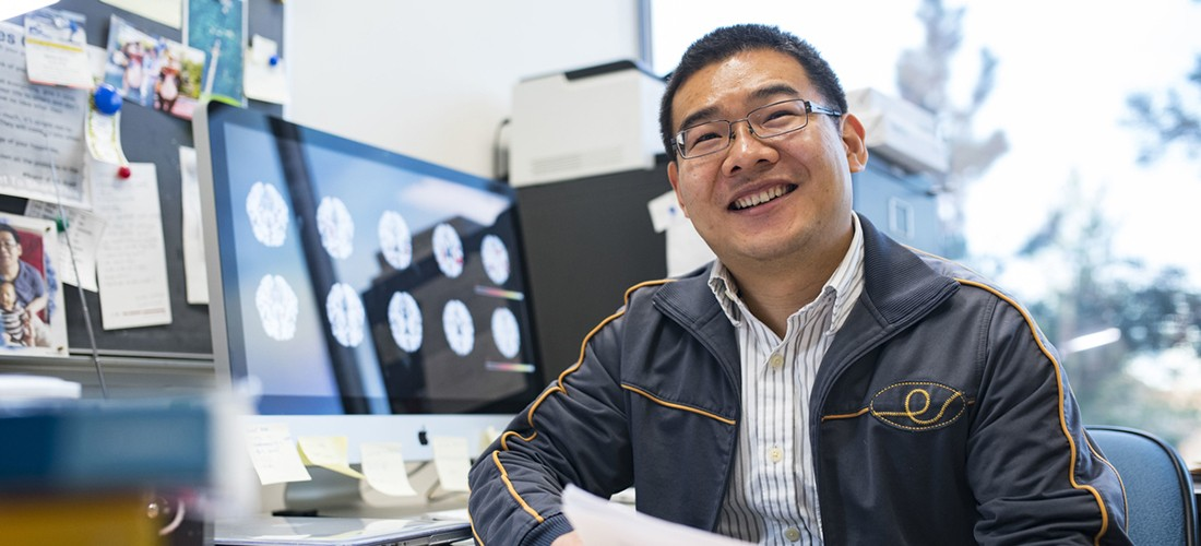 Linglong Kong (mathematical and statistical sciences) is the co-lead of a new collaboration of 18 researchers across North America working together to improve the way neuroimaging data is analyzed.