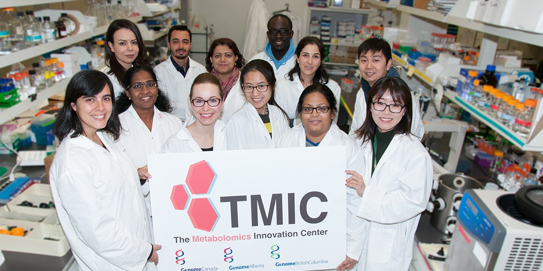 The Metabolomics Innovation Centre (TMIC) is a nationally-funded core facility that has a unique combination of infrastructure and personnel to perform a wide range of cutting-edge metabolomic studies for clinical trials research, biomedical studies, bioproducts studies, nutrient profiling and environmental testing.