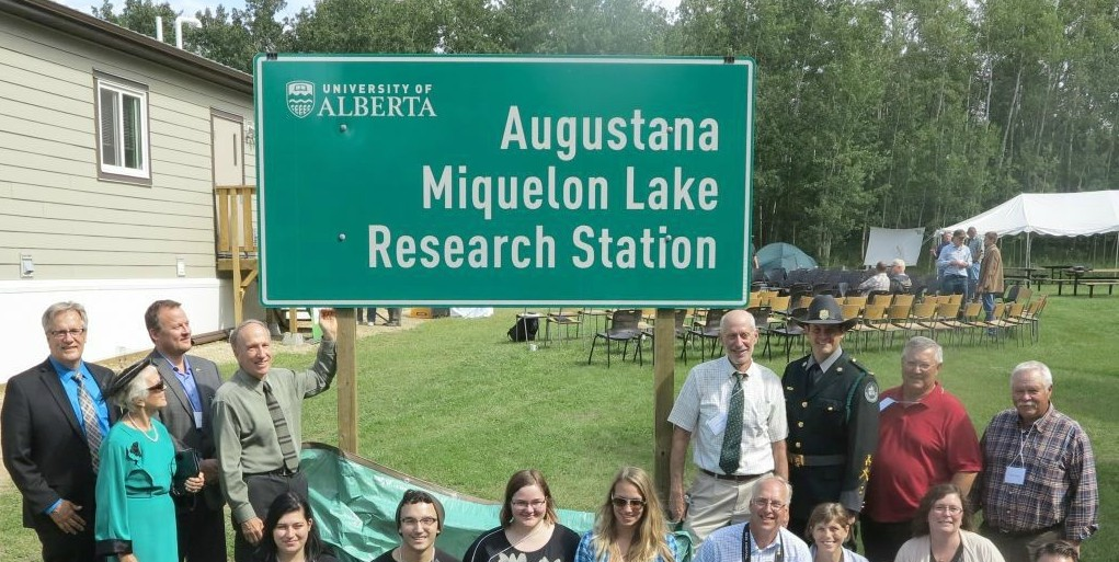 More than 110 guests and dignitaries were on site as UAlberta opened the new Augustana Miquelon Lake Research Station.
