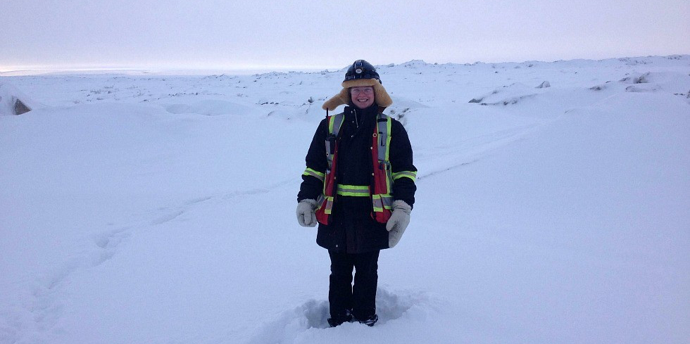 Sarah Farley has found success as a student-athlete, in the classroom and in her recent engineering co-op placement at the Diavik diamond mine in the Northwest Territories.