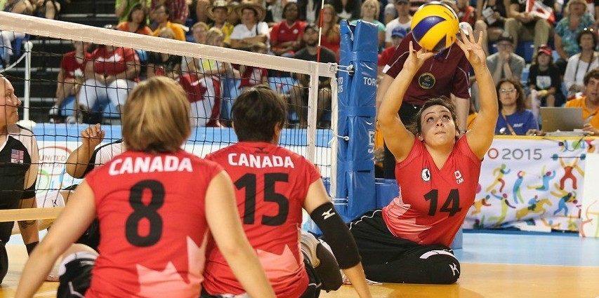 Team Canada's sitting volleyball squad is eager to compete at the Rio Paralympics, says assistant coach Christine Smyth, who also coaches the U of A Pandas volleyball team. (Photo: Paralympics.ca)