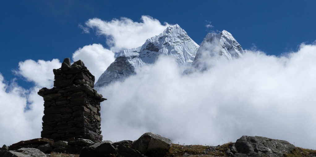 The dizzying heights of the Himalayas were the backdrop to Craig Steinback's research into how the Sherpa people have adapted to their mountainous environment.