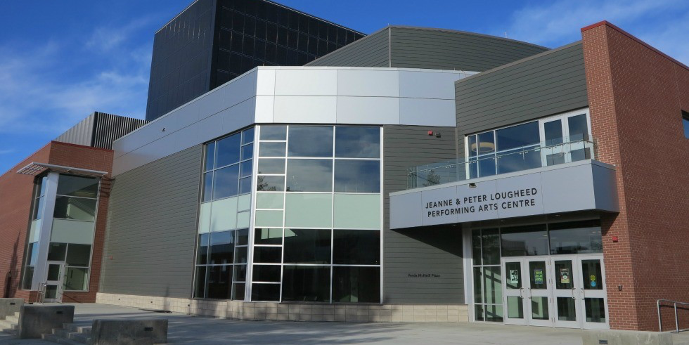 The Jeanne and Peter Lougheed Performing Arts Centre was officially named at its grand opening gala in Camrose Nov. 1, 2014.