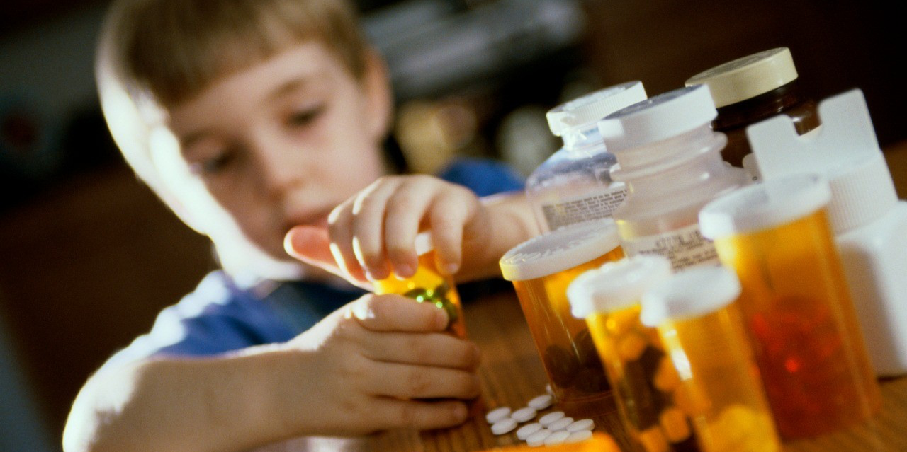Two-thirds of hospital visits for child poisoning are caused by over-the-counter medications, but parents can take some simple precautions to help keep their kids safe.